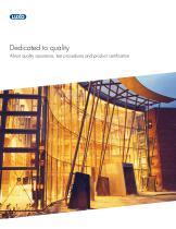 Luxo Quality Brochure