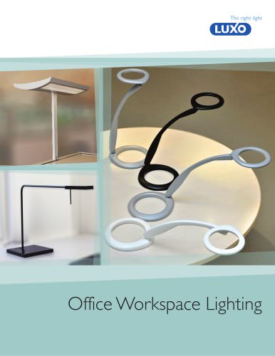NEW! 2012 Task/Contract Catalog - Office Workspace Lighting