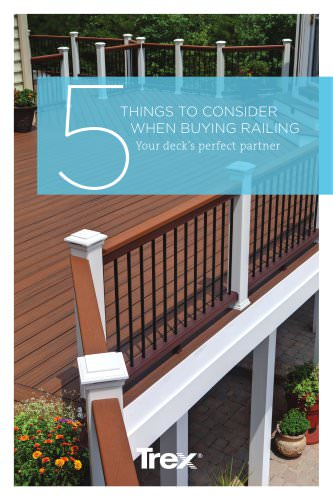 5 Things to Consider When Buying Railing