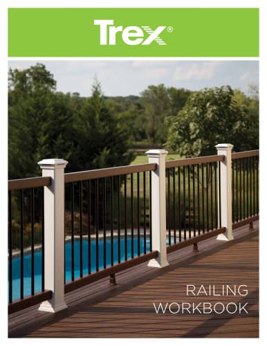 Trex railing workbook