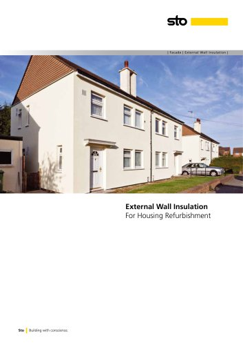 External Wall Insulation For Housing Refurbishment