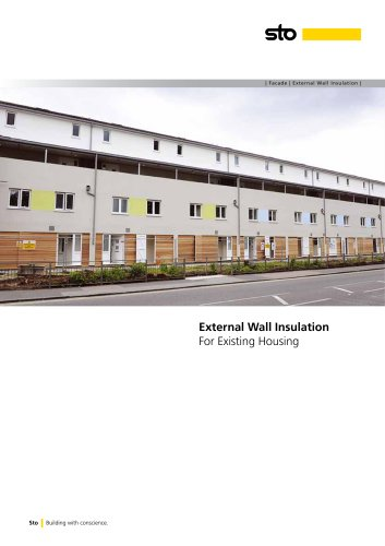 External Wall Insulation Systems for Existing Housing