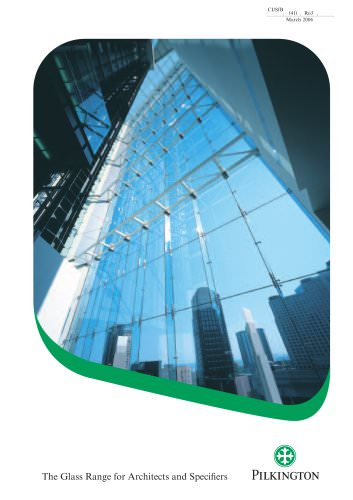 Glass Range for Architects and Specifiers