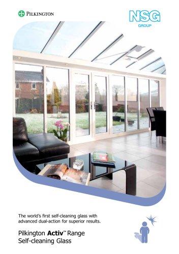 Pilkington Activ™ Range Self-cleaning Glass