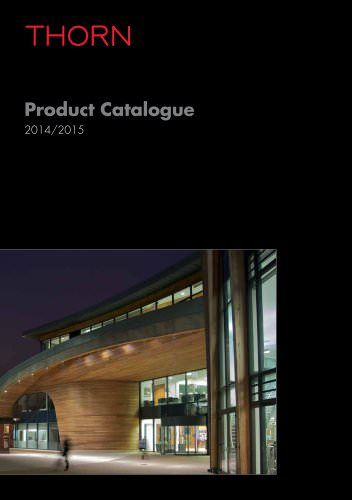 Product Catalogue 2017 Thorn Europhane Pdf Catalogs