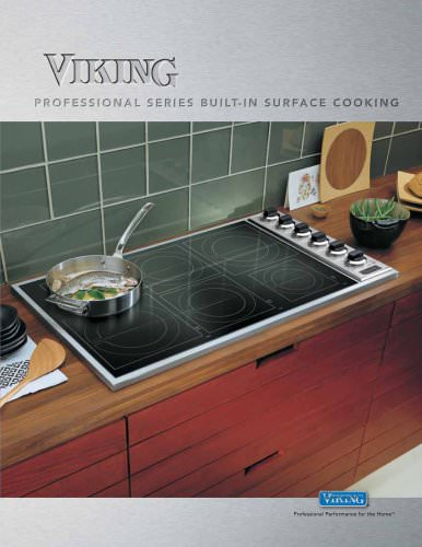 Built-in Surface Cooking