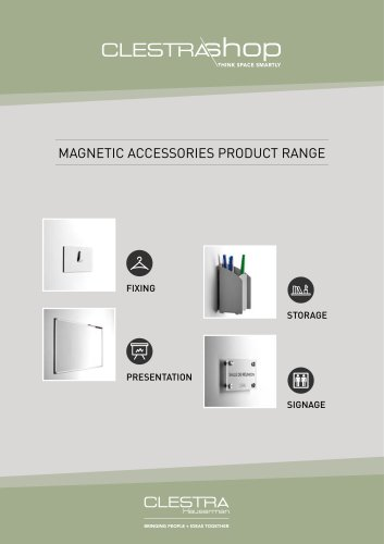 MAGNETIC ACCESSORIES PRODUCT RANGE