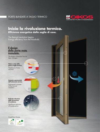 THERMAL BRAKE SECURITY DOORS