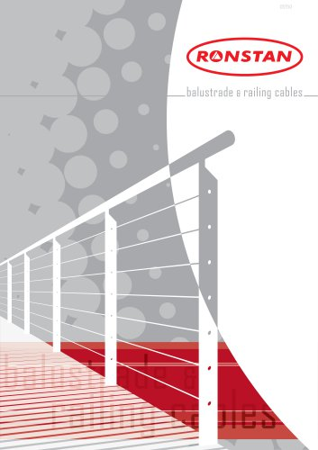 Ronstan Architectural Balustrade & Railing