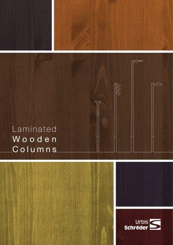 Standard range of Laminated wooden columns