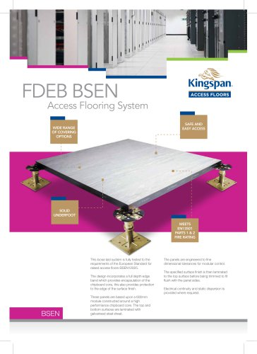 FDEB BSEN Datasheet