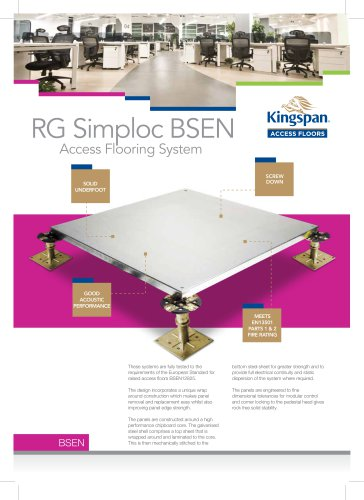 RG Simploc BSEN Datasheet