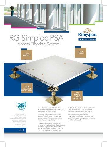 RG Simploc PSA Datasheet