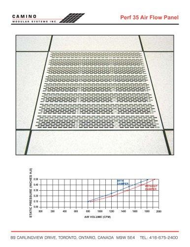 Perf 35 Air Flow Panel