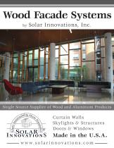 Wood Facade Systems
