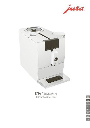 MANUAL_ENA4_COFFEE MACHINE