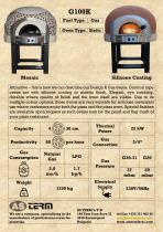 Gas Oven: G100K