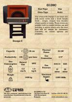 Gas Oven: G120C