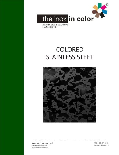 Colored Stainless Steel