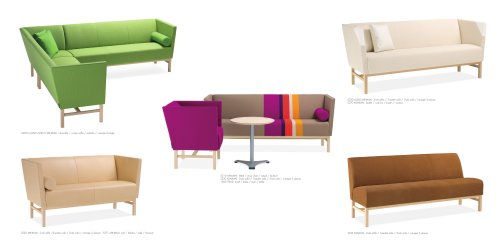 Easy Chairs Sofas Minimal Materia