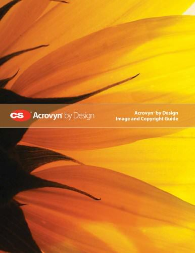 Acrovyn by Design Image and Copyright Guide