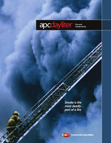 APC Dayliter® Fire and Smoke Vents
