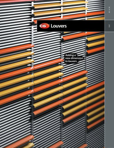 C/S Louvers Catalog
