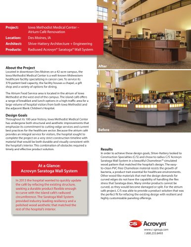 Iowa Methodist Medical Center Case Study