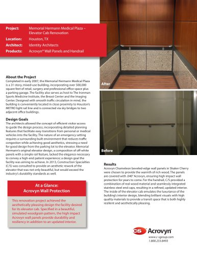 Memorial Hermann Medical Plaza Case Study