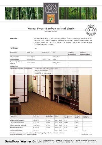 Werner Floors® Bamboo