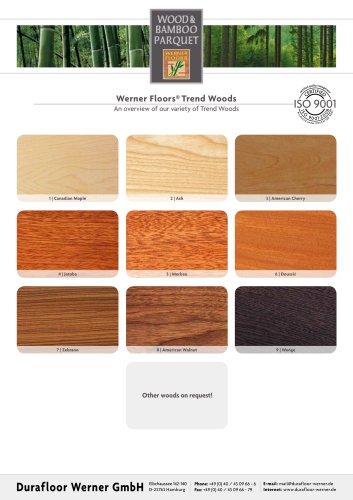 Werner Floors® Trend woods