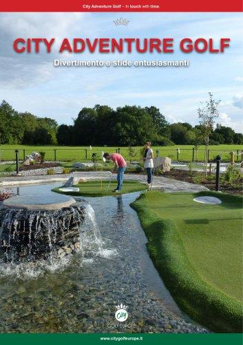 CITY GOLF EUROPE - Adventure Golf