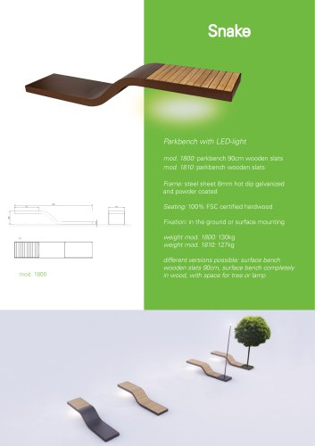 EUROFORM W - street furniture NEWS 2020