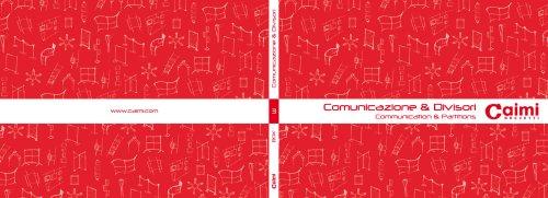 3-Comunicazione & Divisori Communications & Partitions Box 1.1