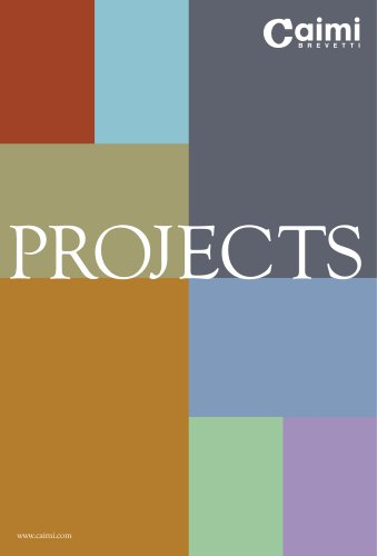 CAIMI PROJECTS BROCHURE
