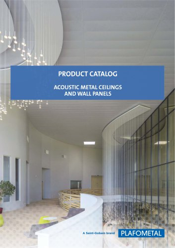 PRODUCT CATALOG ACOUSTIC METAL CEILINGS AND WALL PANELS