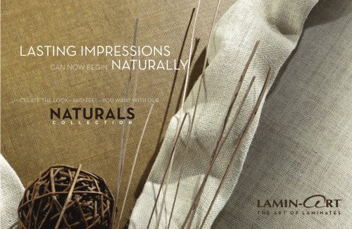 Naturals Collection Brochure 2012