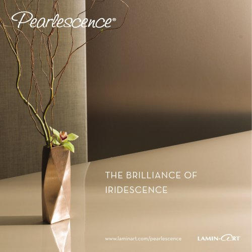 Pearlescence Catalog 2015