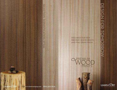 Premium Wood Print Catalog 2013