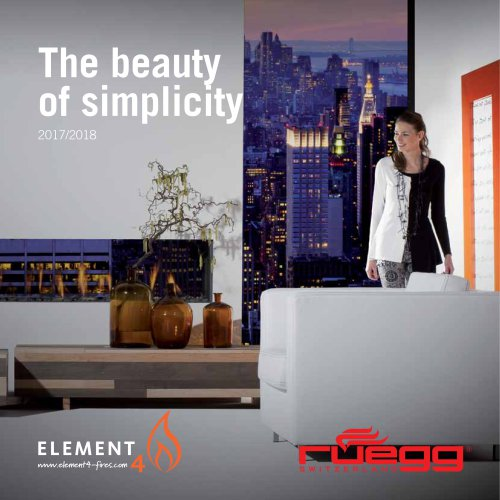 Element4 Gas fireplaces