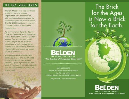 Belden Brick Environmental Stewardship