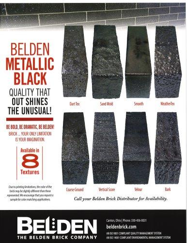 Belden Metallic Black