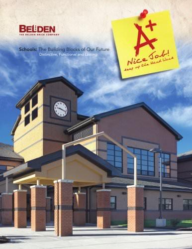 Brick School Building Design Literature
