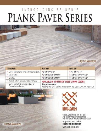 Plank Pavers Series