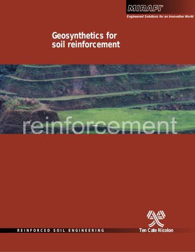 Geosynthetics for Soil Reinforcement