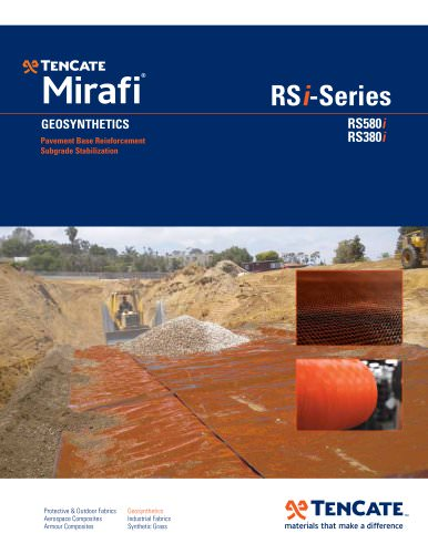 TenCate Mirafi® RS580i - Base Reinforcement & Subgrade Stabilization