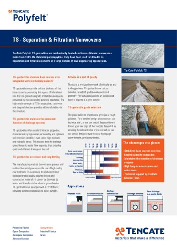 TS - Separation & Filtration Nonwovens
