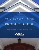 AZEK Trim and Mouling Catalog