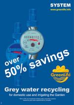catalog grey water recycling