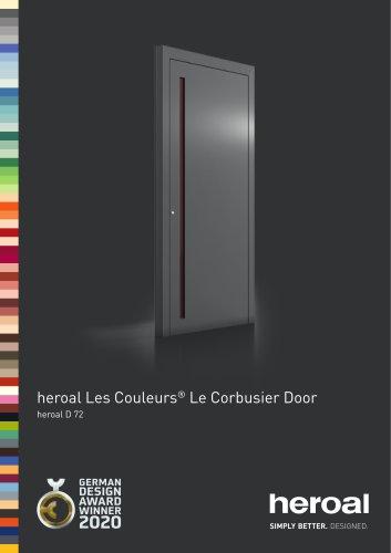 heroal Les Couleurs® Le Corbusier Front Door